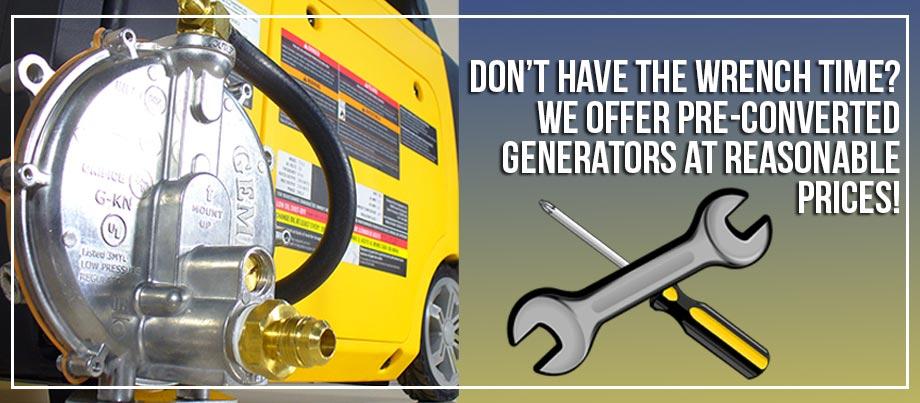 tri-fuel generators